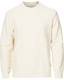 Micah Knitted Crew Neck Off White