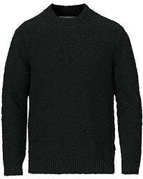 Micah Knitted Crew Neck Black