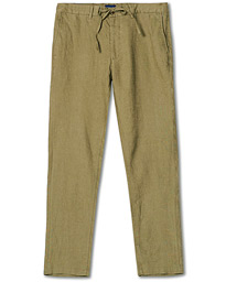 Relaxed Linen Pants Aloe Green