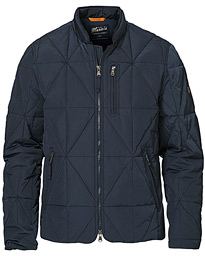 Cap Light Down Quilted Jacket Blue