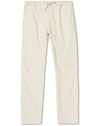 Windward Linen Drawstring Pants Off White