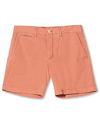 Light Twill Shorts Red