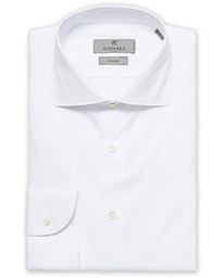 Slim Fit Stretch Shirt White