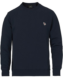 Regular Fit Zebra Sweatshirt Navy