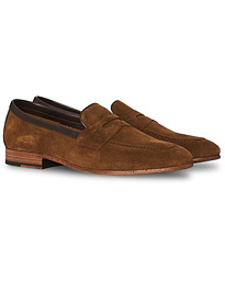 Darwin Loafer Tan Suede