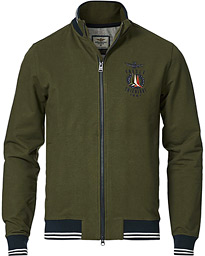 FE1580 Full Zip Sweatshirt Military Green