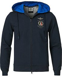 FE1579 Full Zip Hood Sweatshirt Navy