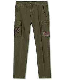 PA1437 Cotton Cargo Trousers Green