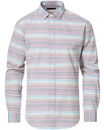 Zig-Zag Long Sleeve Shirt Multicolor