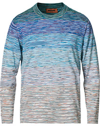 Space-Dye Crew Neck Sweater Multicolor