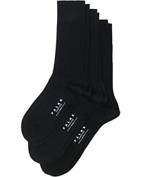 3-Pack Lhasa Cashmere Socks Black