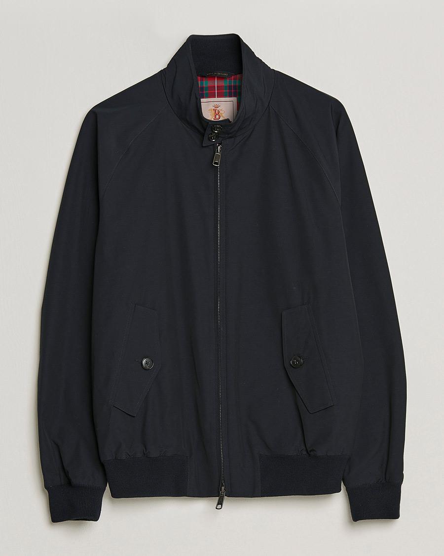 Baracuta G9 Original Harrington Jacket Dark Navy osoitteesta Care eae047d596