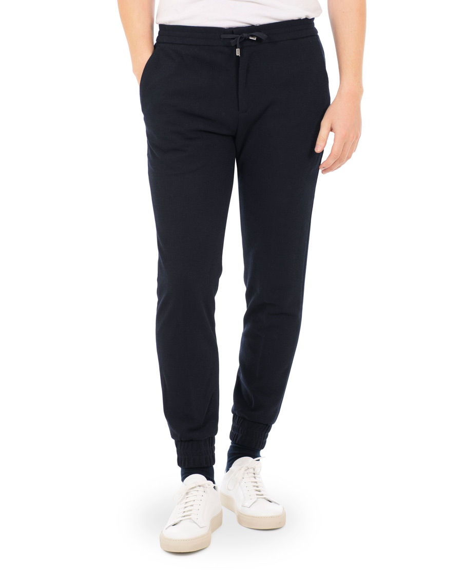 Emporio Armani Structured Draw String Trousers Navy osoitteesta C 57dcf03ed3