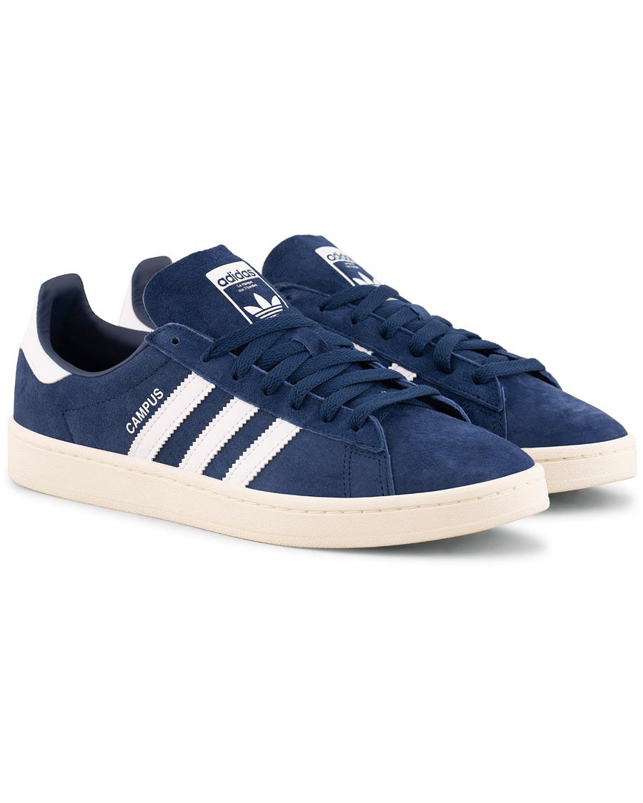 buy popular ef7ea c5a2d adidas Originals Campus Sneaker Dark Blue