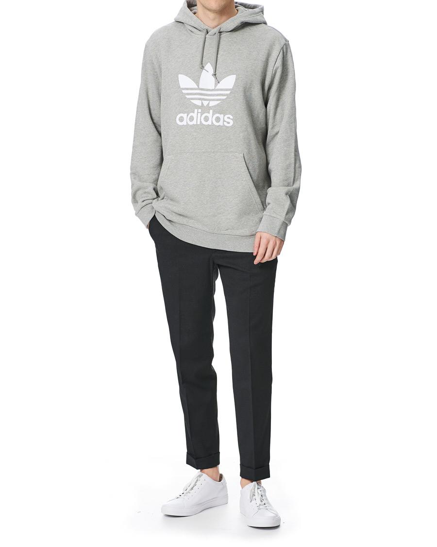 adidas Originals Trefoil Hoodie Medium Grey Heather osoitteesta C fc982c4568