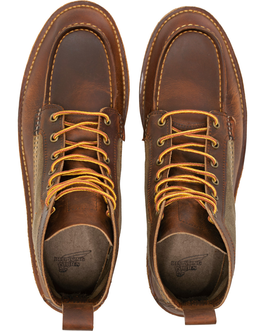 276bc1daedd Red Wing Shoes Wacouta 6-inch Moc Boot Copper Rough osoitteesta C
