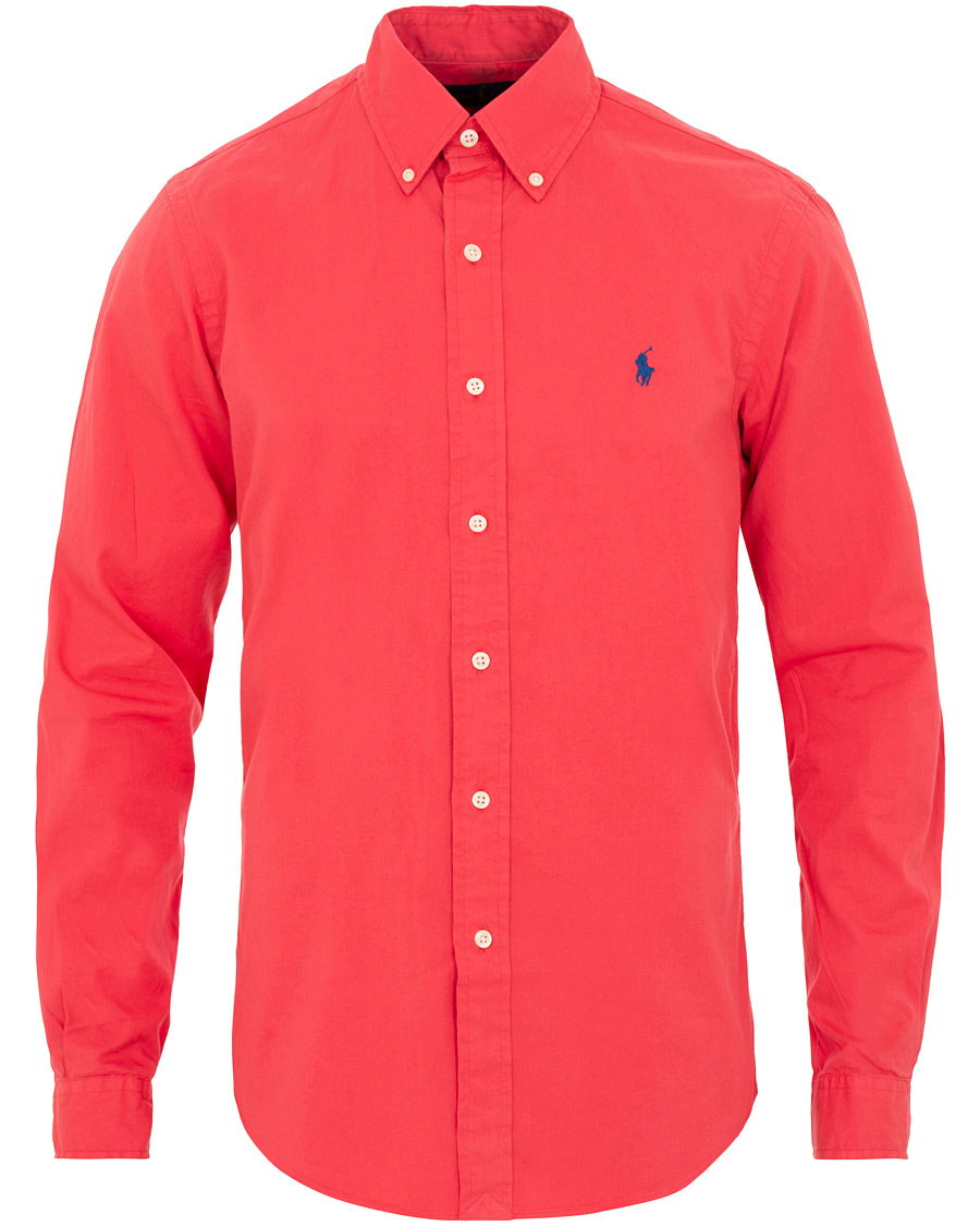 d67a3aee7 Polo Ralph Lauren Slim Fit Featherweight Twill Shirt Cactus Flower