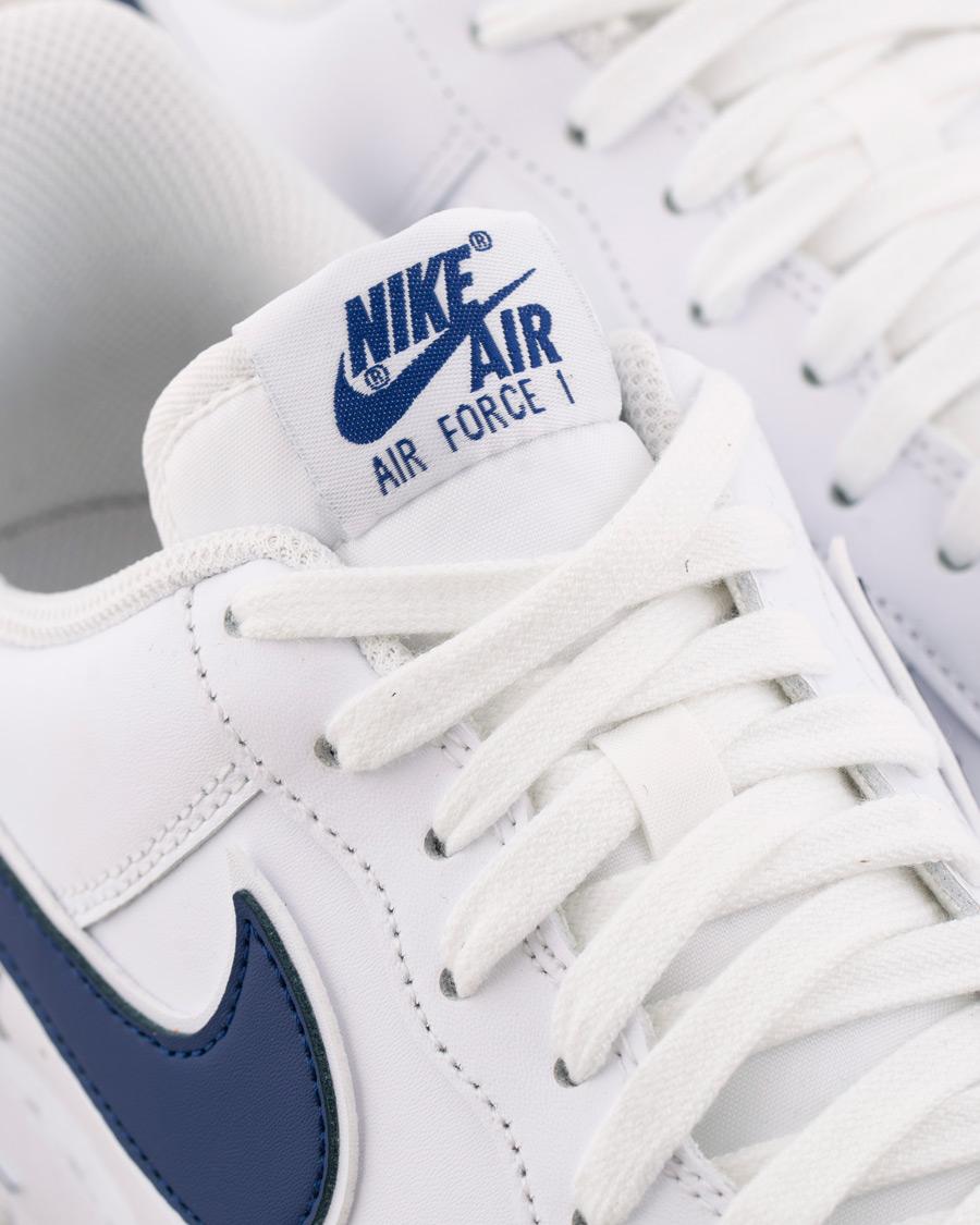 Nike Air Force Sneaker WhiteDeep Royal osoitteesta